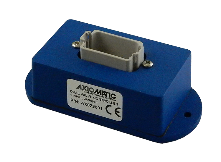 CANopen Control for Hydraulic Valves