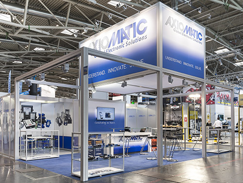 Axiomatic exhibits at BAUMA